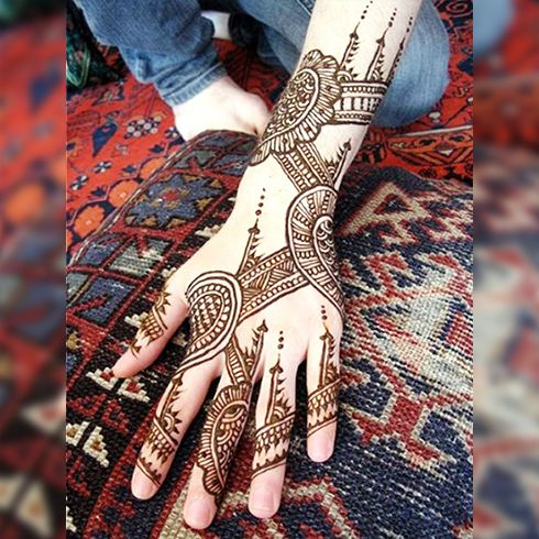Chines Mehndi Design