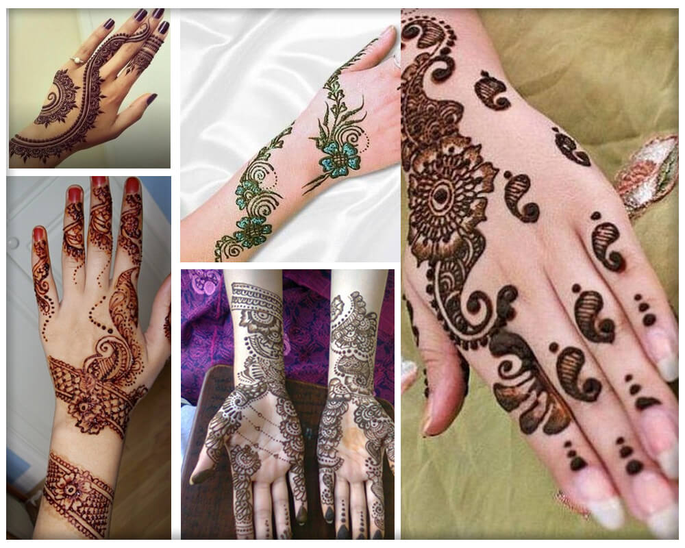 Chinese Mehndi Designs