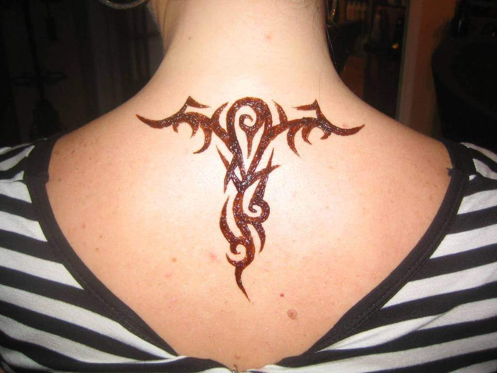 Henna Tribal Tattoo Design