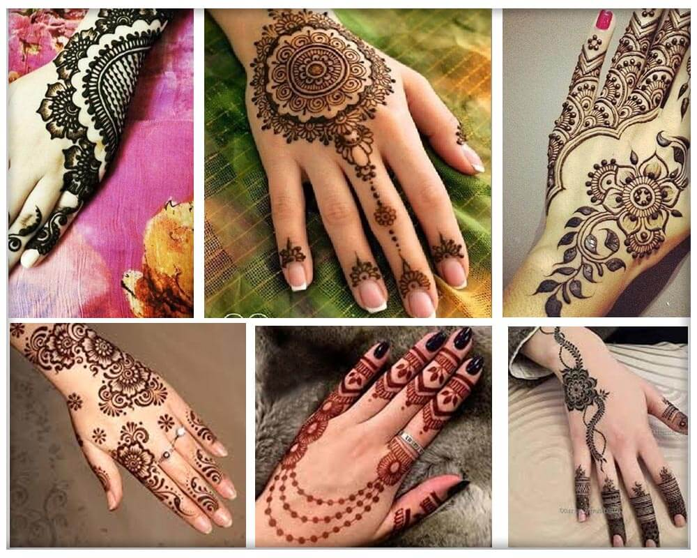 Necklace Mehndi Designs