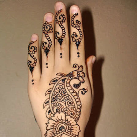Beautiful Design of Mehndi