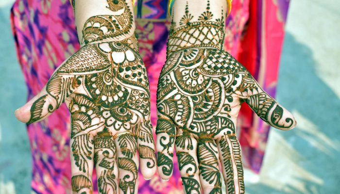 Simple and Easy Mehndi Design for Kids