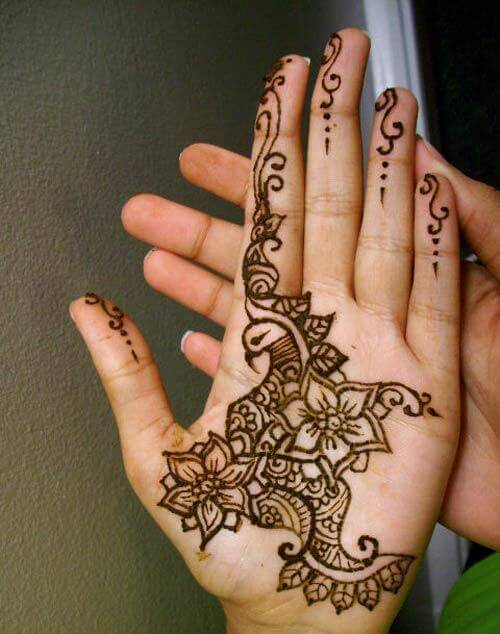 Tradition Mehndi Design Pattern