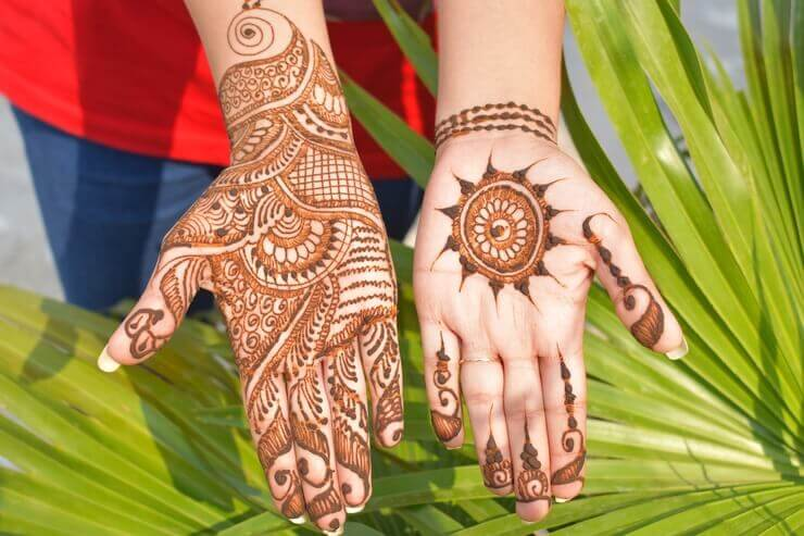 12 Latest Mehndi Designs for Palms