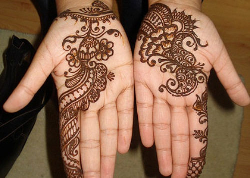 Arabic Mehndi Design for College Girls
