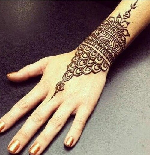Beautiful New Wrist Mehndi Designs