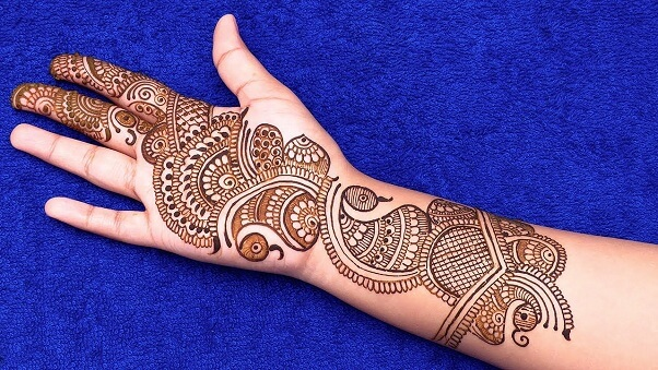 Indian Arabic Mehndi Design