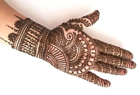 Latest Mehndi Designs For Weddings