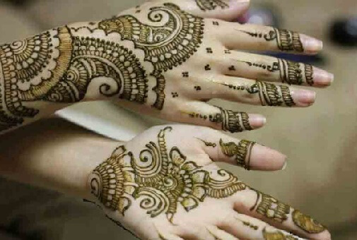 Mehendi Designs For Back And Front Sides Of Hand