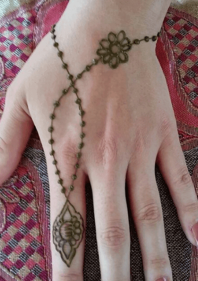 Mehndi Design For Learners