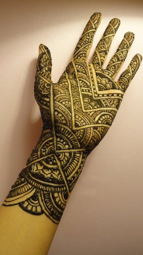 Professional Arabic Mehndi Design