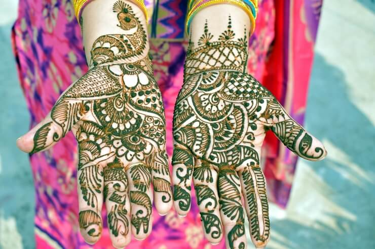 Simple and Easy Mehndi Designs for Kids , Mehndi Design Trends