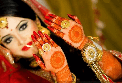 The Adorable Bridal Mehndi Design