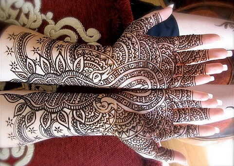 Two In One Mehndi Arabic Art